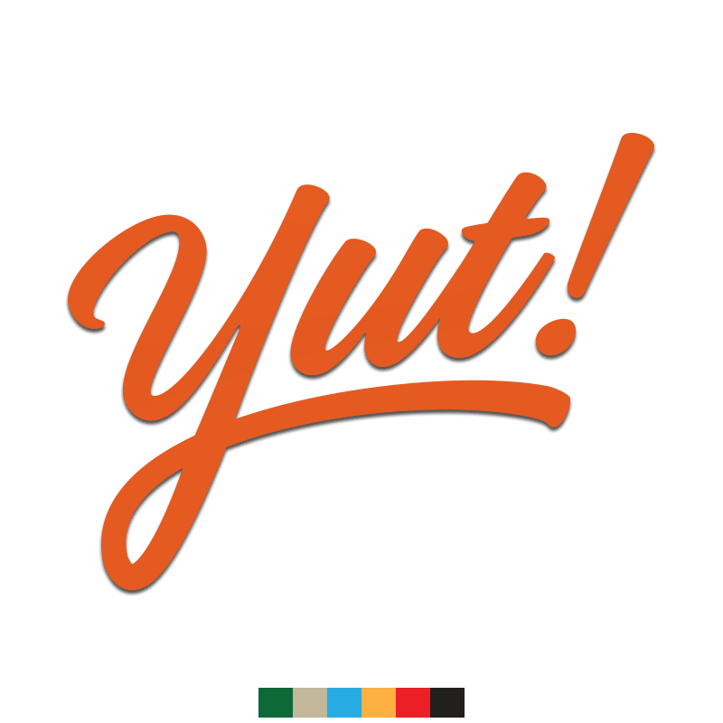 Yut! Decal - Inkfidel