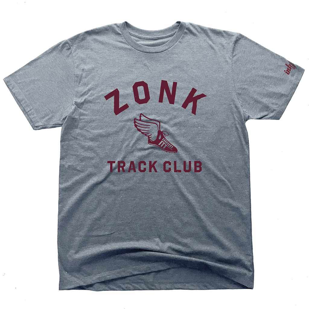Inkfidel Zonk Track Club Funny Military Veteran T-Shirt