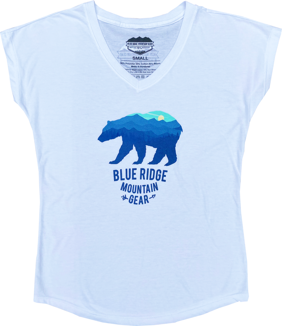BRMG Bear Scoopneck (slim fit)