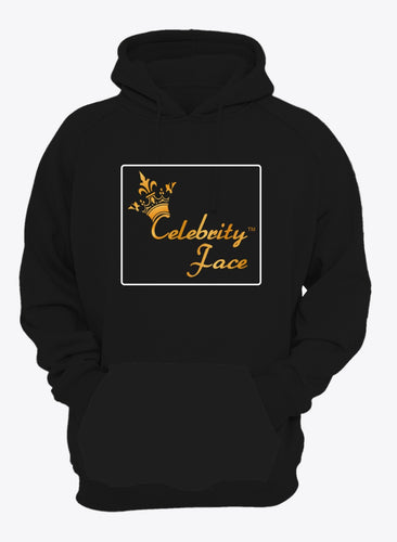 Celebrity Face Black Color Full Sleeve Hoodie For Men