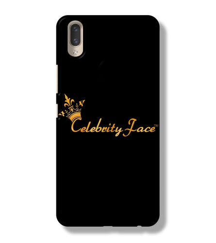 Celebrity Face Exclusive Branded Black Color iPhone X Back Cover