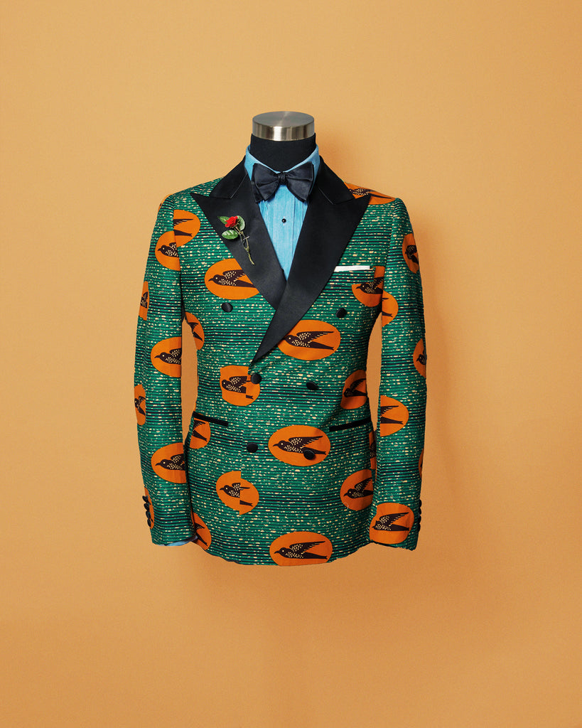 Southern Gents Ankara African Tuxedo