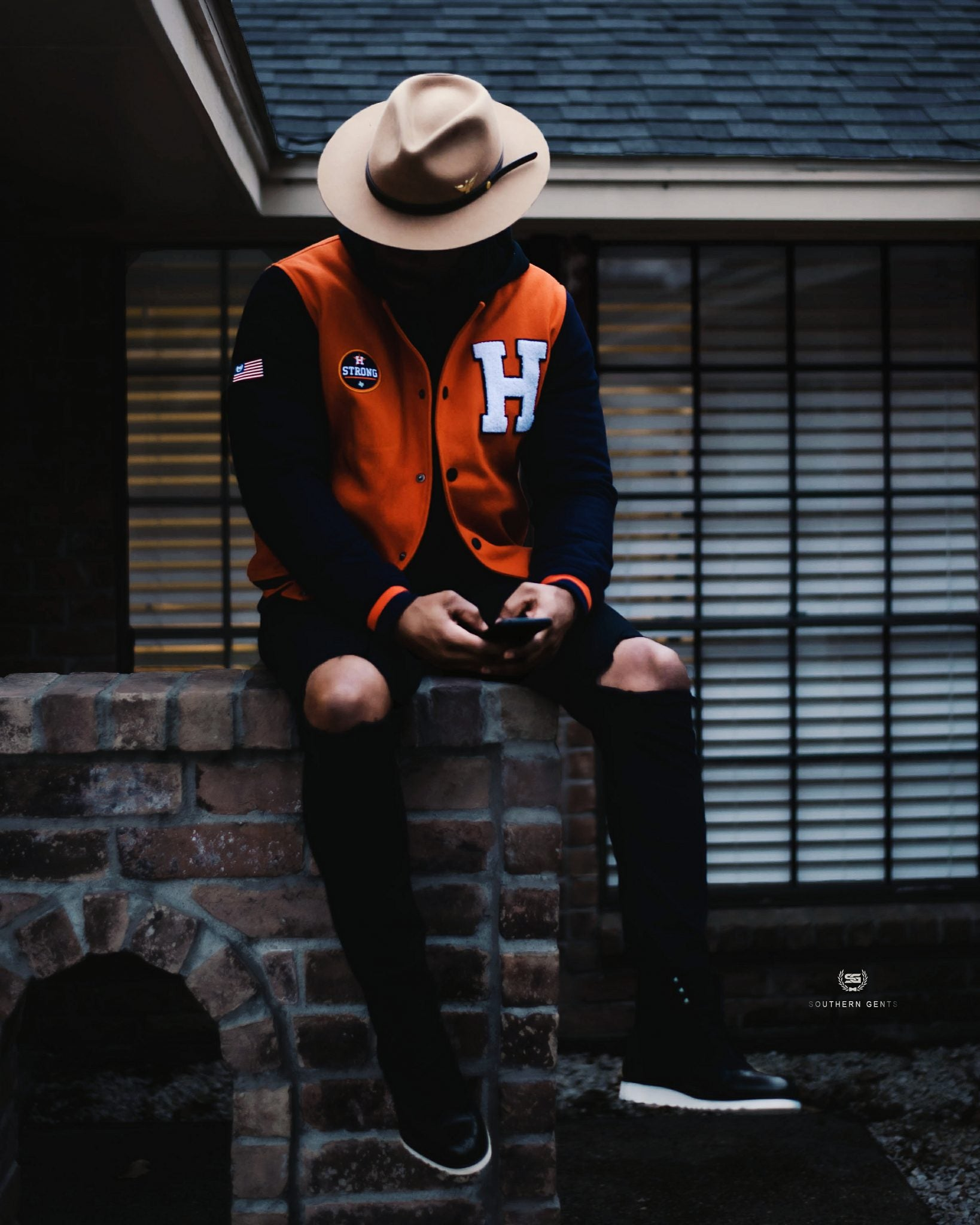 Southern Gents H-Town Houston Varsity Jacket
