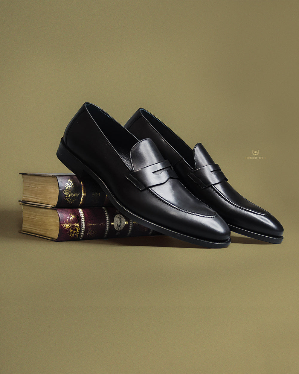 Black Penny Loafers Southern Gents