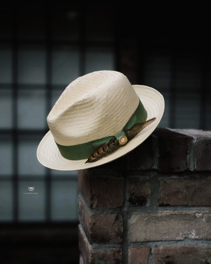 Southern Gents Ivory Trilby Fedora