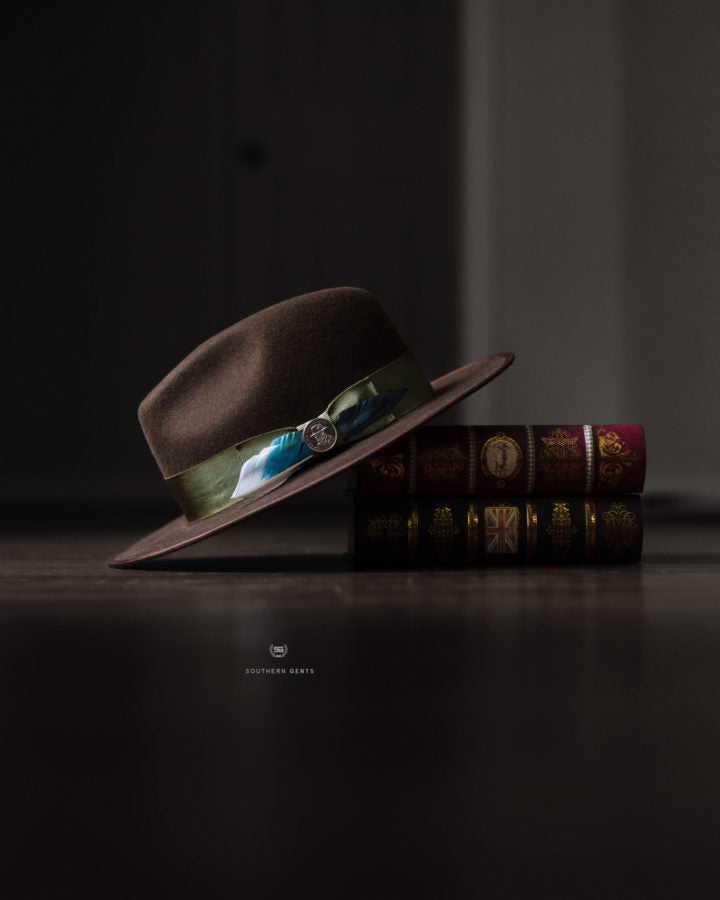 Southern James Dark Brown Fedora