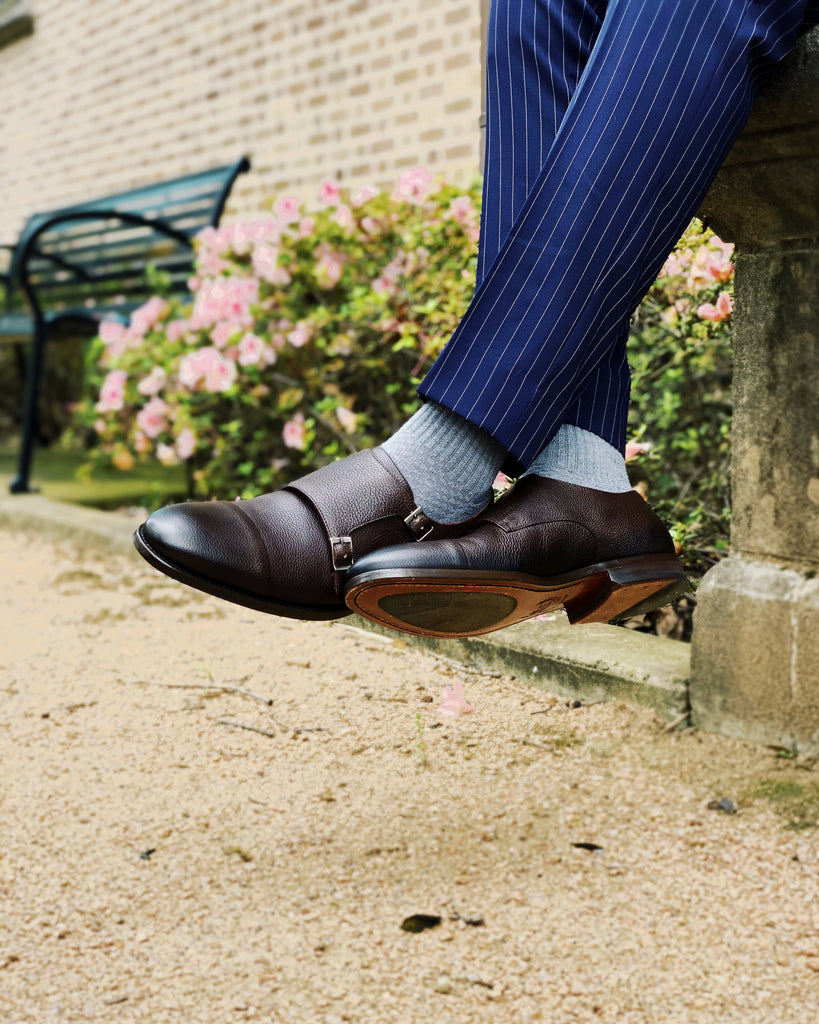 Southern Gents Double Monkstrap - Dark Brown