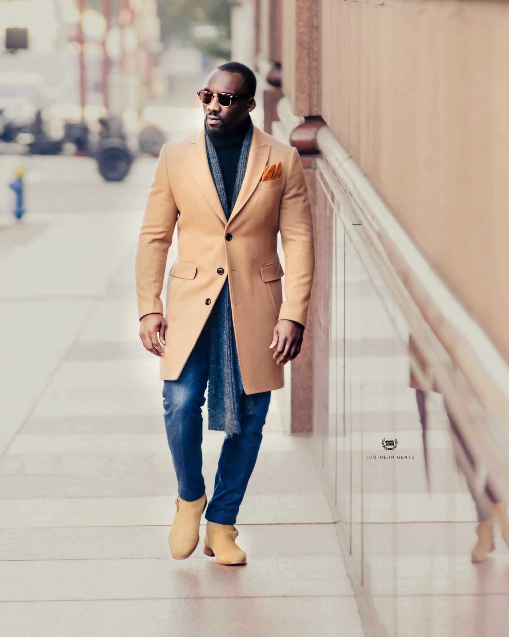Southern Gents Camel Coat