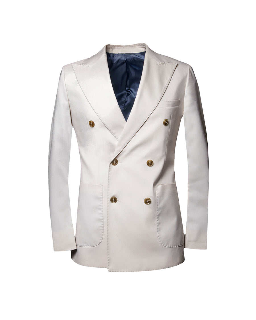 SG Double Breasted Blazer – Ivory
