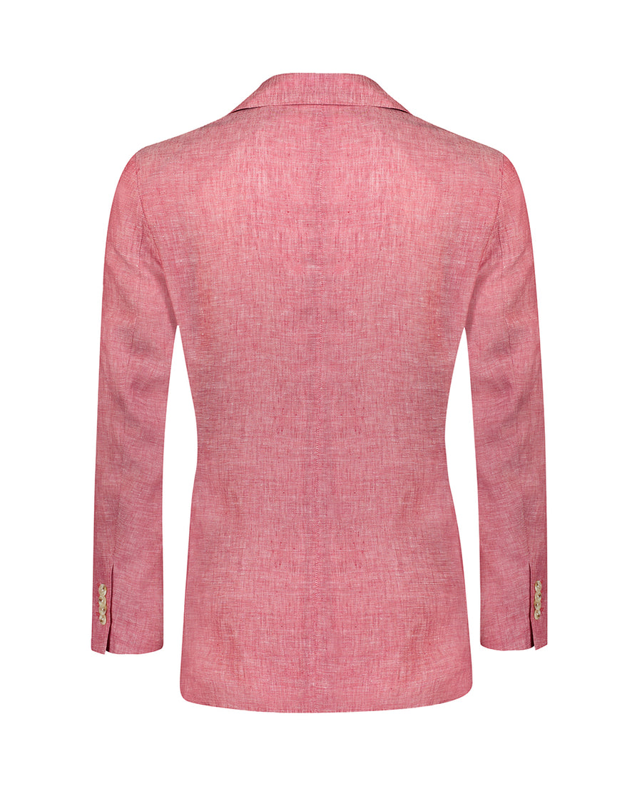 Southern Gents Salmon Double Breasted Blazer