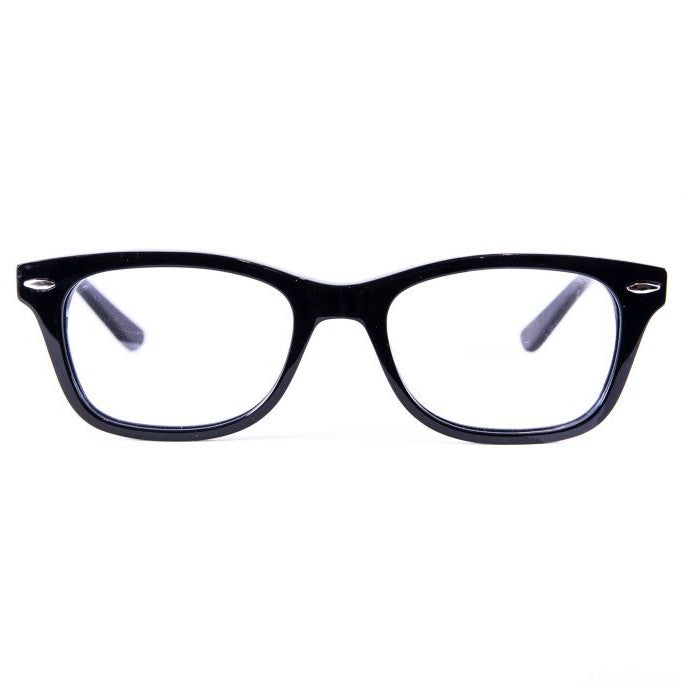 Men Womens Black Classic Reader