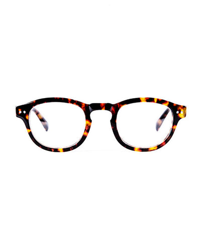 Men Womens Vintage Tortoise Reader