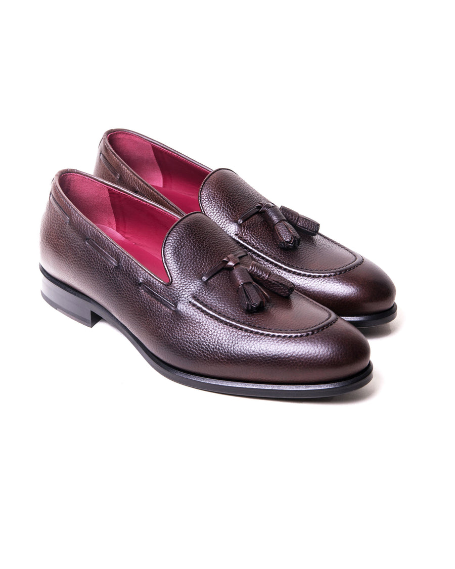 SG Newton Tassle Loafer – Dark Brown Leather