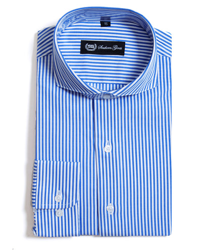 SG perfect spread pin stripe shirt