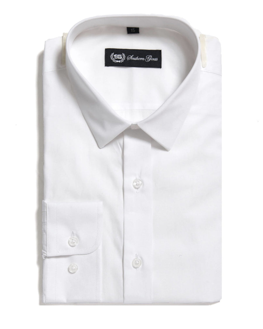 SG 'Mini Collar' Dress Shirt –  White