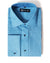 SG Spread Collar Tuxedo Dress Shirt – Denim
