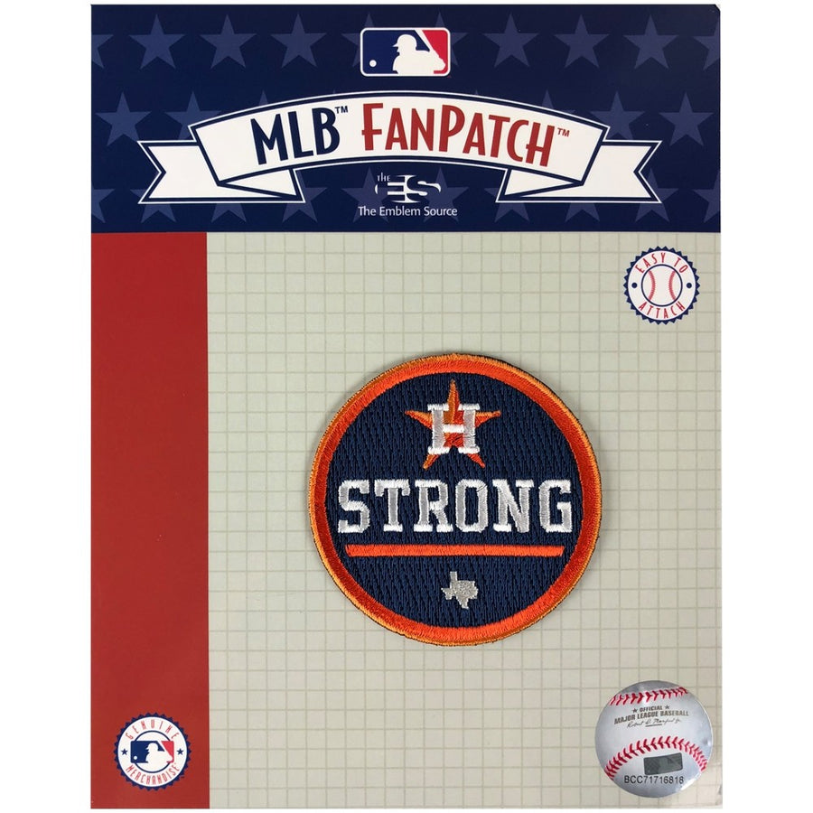 Houston Astros H Strong Official MLB Patch