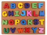 Wooden Alphabet Peg Intelligence Toys