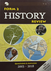 Form 2 History Review APE - Shop Online in Tanzania | Empire Greeting Cards Ltd