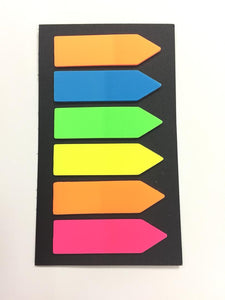 Sticky Index Sticker Strips | Sticky Notes in Dar