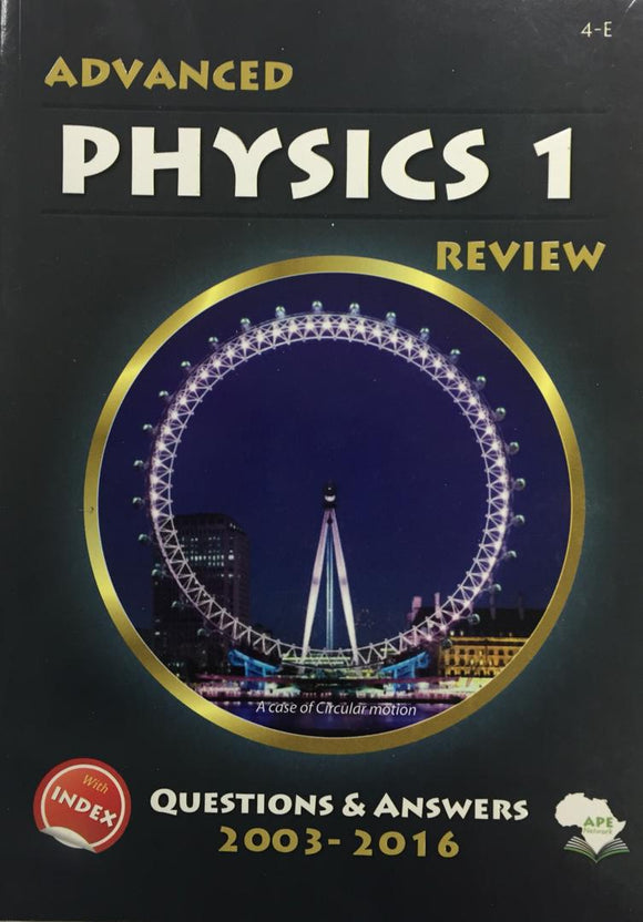 Advanced Physics 1 Review APE - Shop Online in Tanzania | Empire Greeting Cards Ltd