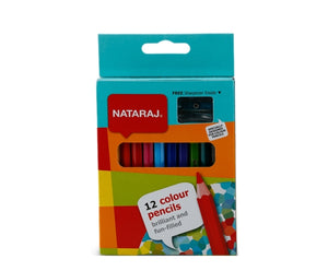Color Pencils Short 12 pc NATARAJ - Shop Online in Tanzania | Empire Greeting Cards Ltd