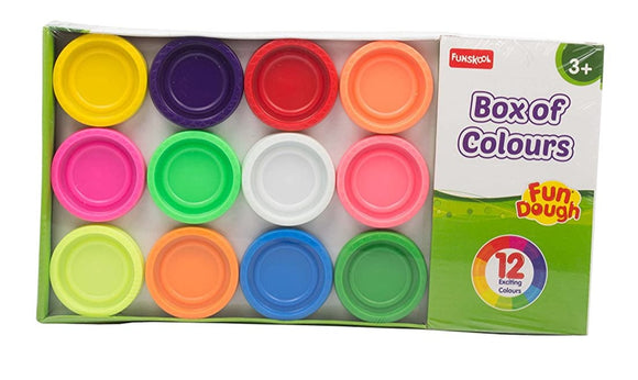 FUNSKOOL 12 Colour Pack Fun Dough | Playdoh in Dar Tanzania
