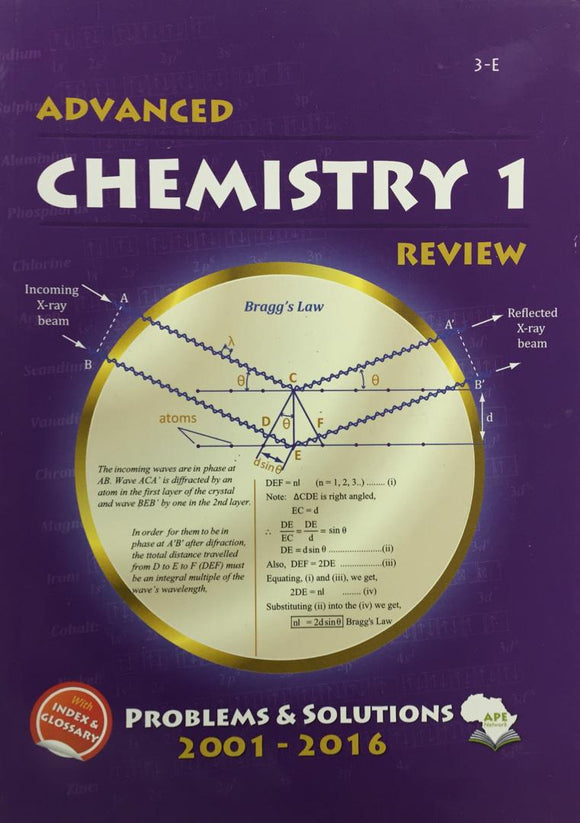 Advanced Chemistry 1 Review APE - Shop Online in Tanzania | Empire Greeting Cards Ltd