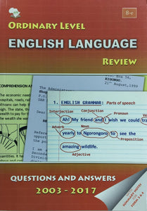 Ordinary Level English Language Review APE - Shop Online in Tanzania | Empire Greeting Cards Ltd