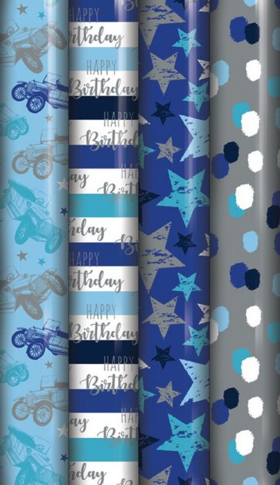 Metallic Gift Wrap Roll 1.5 Metre | Gift Wraps in Dar Tanzania