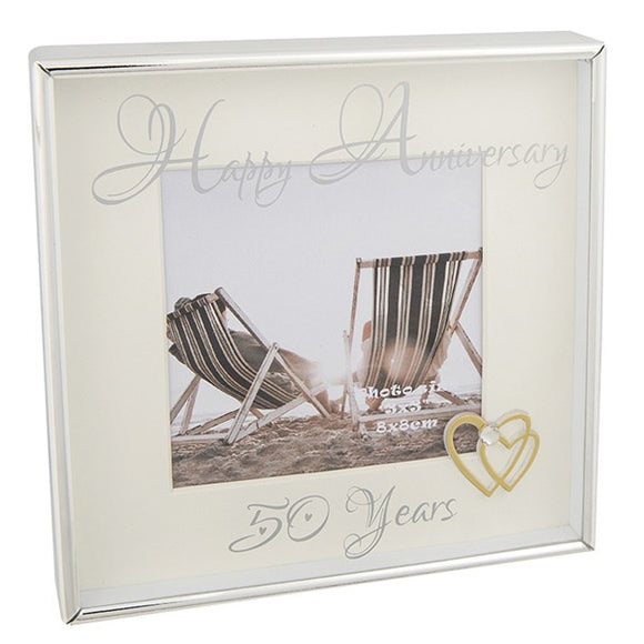 Mirror Message Frame 3x3 50th Anniversary - Shop Online in Tanzania | Empire Greeting Cards Ltd