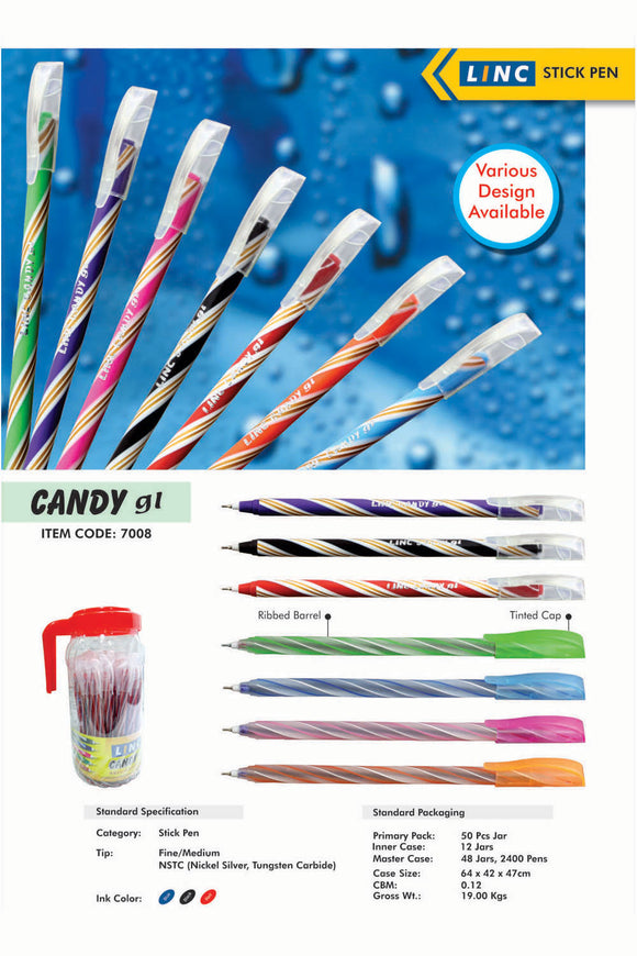 Ball Pen Candy LINC - Shop Online in Tanzania | Empire Greeting Cards Ltd