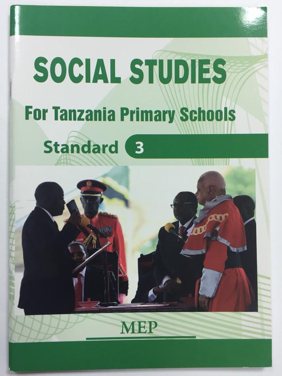 Social Studies For Tanzania Primary Schools Standard 3 MEP - Shop Online in Tanzania | Empire Greeting Cards Ltd