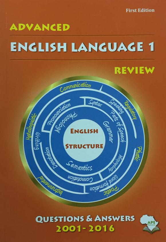 Advanced English Language 1 Review APE - Shop Online in Tanzania | Empire Greeting Cards Ltd