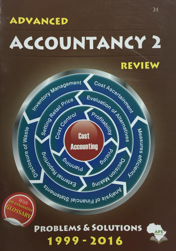 Advanced Accountancy 2 Review APE - Shop Online in Tanzania | Empire Greeting Cards Ltd
