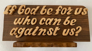 Wooden God Quotation Frame | God hand craft frames in Dar Tanzania