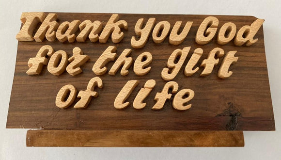 Wooden Bible God Quotation Frame | Gift shops in Dar Tanzania