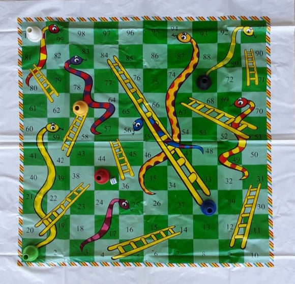 Large pvc Snakes And Ladders | Snakes and Ladders Board game