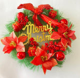 Red Christmas wreath | Xmas decorations in Dar Tanzania