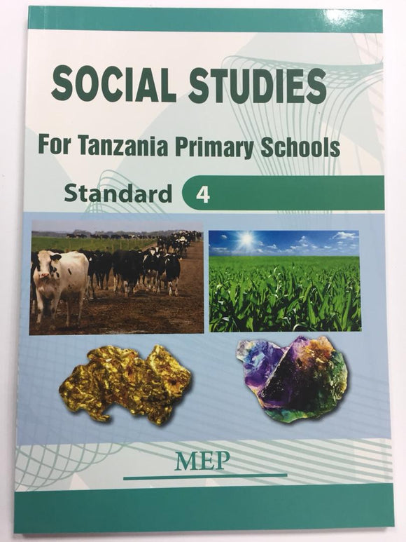 Social Studies For Tanzania Primary Schools Standard 4 MEP - Shop Online in Tanzania | Empire Greeting Cards Ltd