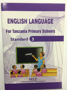 English Language For Tanzania Primary Schools Standard 3 MEP - Shop Online in Tanzania | Empire Greeting Cards Ltd
