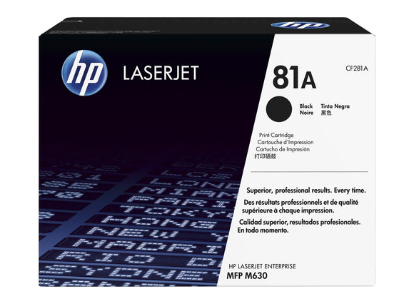 HP 81A Toner Black | CF281A Original HP Toners in Dar Tanzania