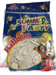 Balloons in 50 pc pack | Party Supplies Balloons in Dar