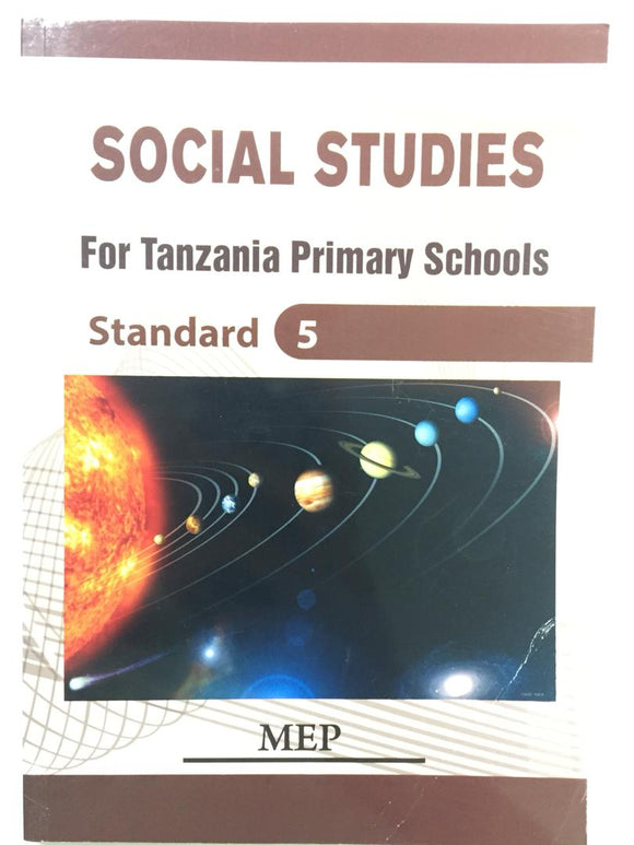 Social Studies For Tanzania Primary Schools Standard 5 MEP - Shop Online in Tanzania | Empire Greeting Cards Ltd