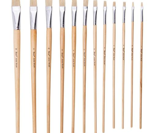 Watercolor Brushes 12pc Set With Palette | Paint Brushes in Dar