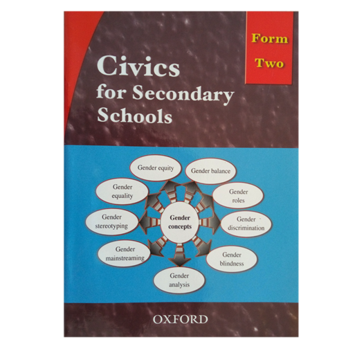 Civics For Secondary Schools Form 2 Textbook - Shop Online in Tanzania | Empire Greeting Cards Ltd