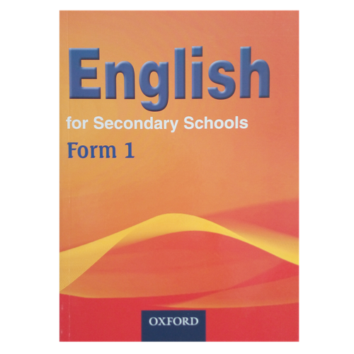 English For Secondary Schools Form 1 Textbook - Shop Online in Tanzania | Empire Greeting Cards Ltd