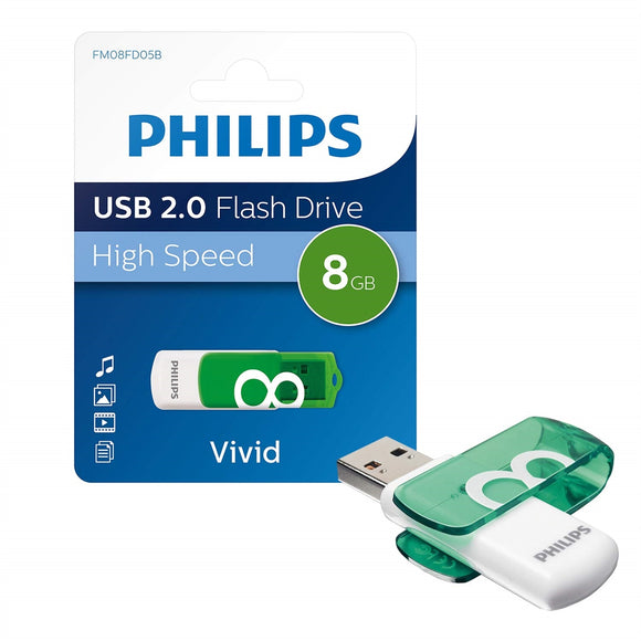 Philips USB 2.0 Flash Drive 8 GB - Shop Online in Tanzania | Empire Greeting Cards Ltd