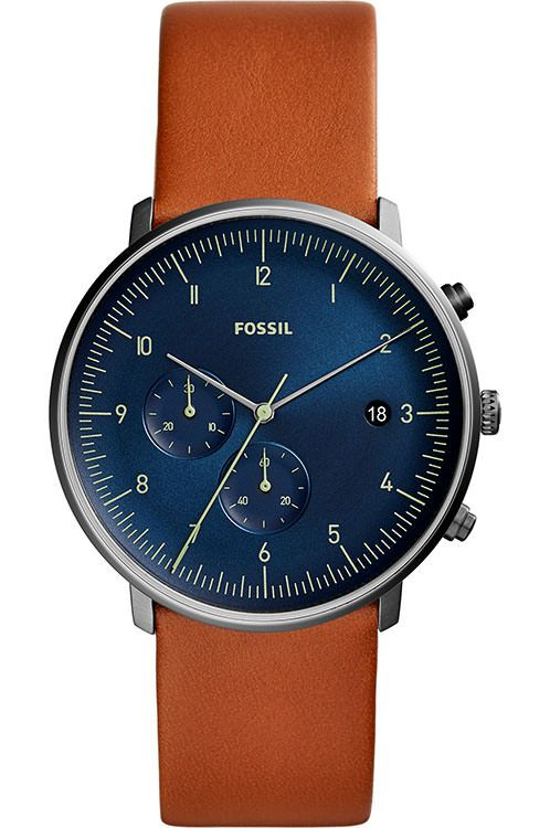 MEN'S FOSSIL CHASE TIMER CHRONOGRAPH LUGGAGE LEATHER WATCH FS5486 - Shop Online in Tanzania | Empire Greeting Cards Ltd