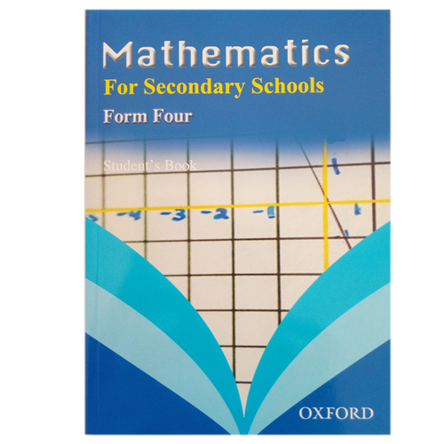 Mathematics For Secondary Schools Form 4 OXFORD - Shop Online in Tanzania | Empire Greeting Cards Ltd